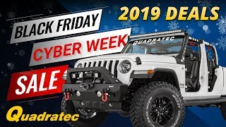 2019 Black Friday & Cyber Monday Deals for Jeep Wrangler & Jeep Gladiator