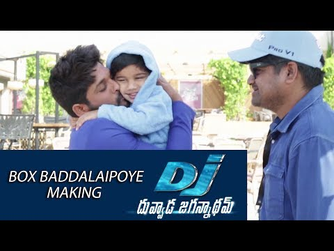 Box Baddalaipoye Song Making - DJ Movie...