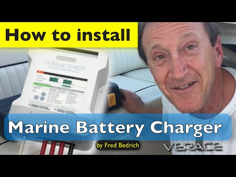 How to install Marine Battery Charger in less than an hour ⁉️  ProNautic 1240P