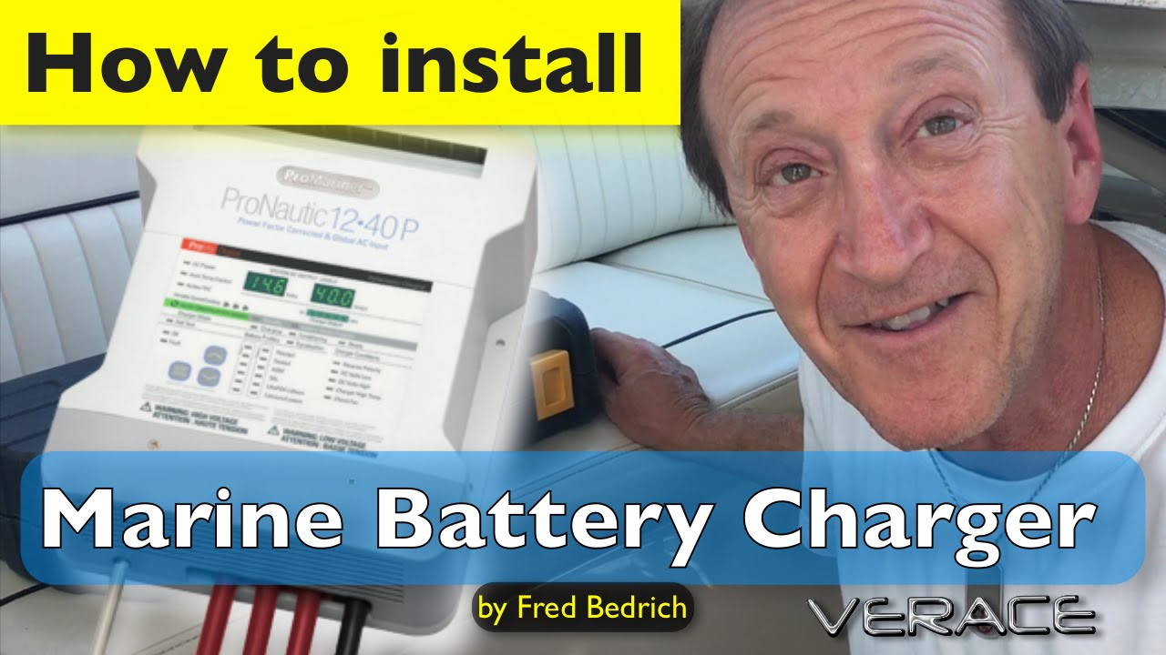 How To Install Marine Battery Charger In Less Than An Hour Sterling Power Usa 20 Amp 2 Bank Pronautic 1240p