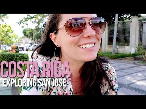 San Jose, Costa Rica: Sightseeing + Thinking about White Privilege and Identity