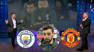 Man City vs Man United 0-2 Bruno Fernandes & Luke Shaw Defeats Pep's Man City🔥Bruno On Fire Reaction
