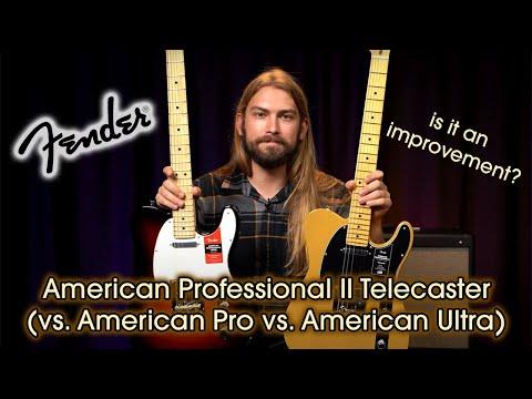 The Ultimate American Telecaster Comparison | American Pro II Vs. American Pro And American Ultra