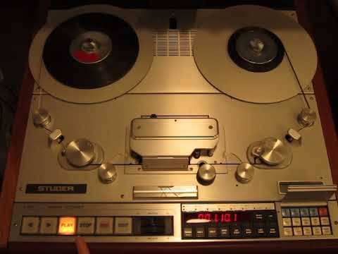Sepea Audio Renovation Jobs: Vintage Reel Tape Recorder Studer A 820 (July 2018)