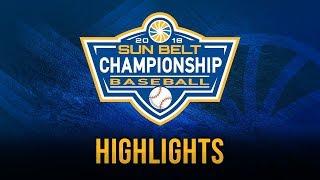 2018 Sun Belt Baseball Championship: Game 12 Highlights