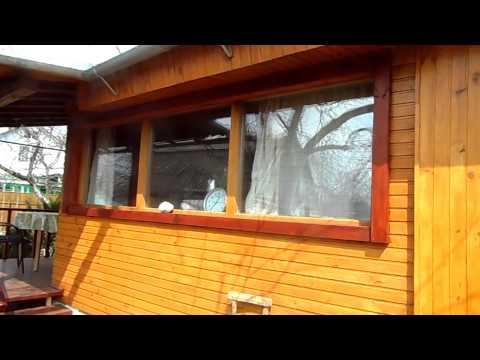 видео: Деревянное окно со стеклопакетами своими руками