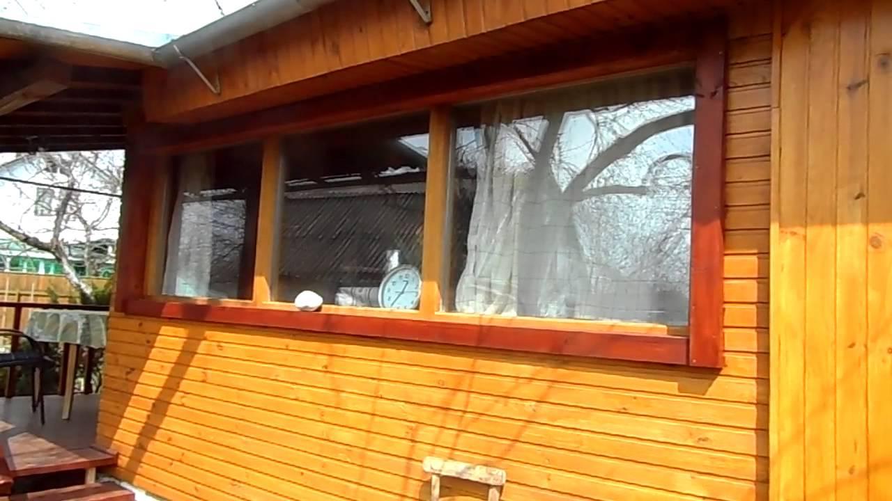 Установка деревянного окна своими руками видео фото 968
