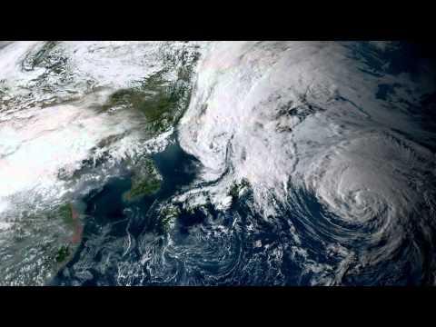 Earth From Space - Sep 10, 2015: Japan, Korea, Beijing & Shanghai