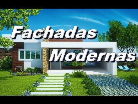Fotos de fachadas de casas modernas youtube for Fachadas de casas modernas 1 piso