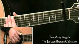 How To Play Jackson Browne Too Many Angels Introduction