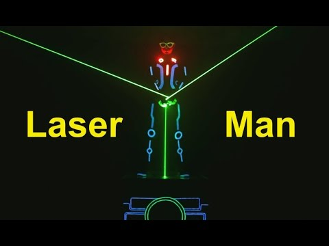 Laser Man Show | Laser Fight | Tron Dance Show India | Skeleton Dance Crew