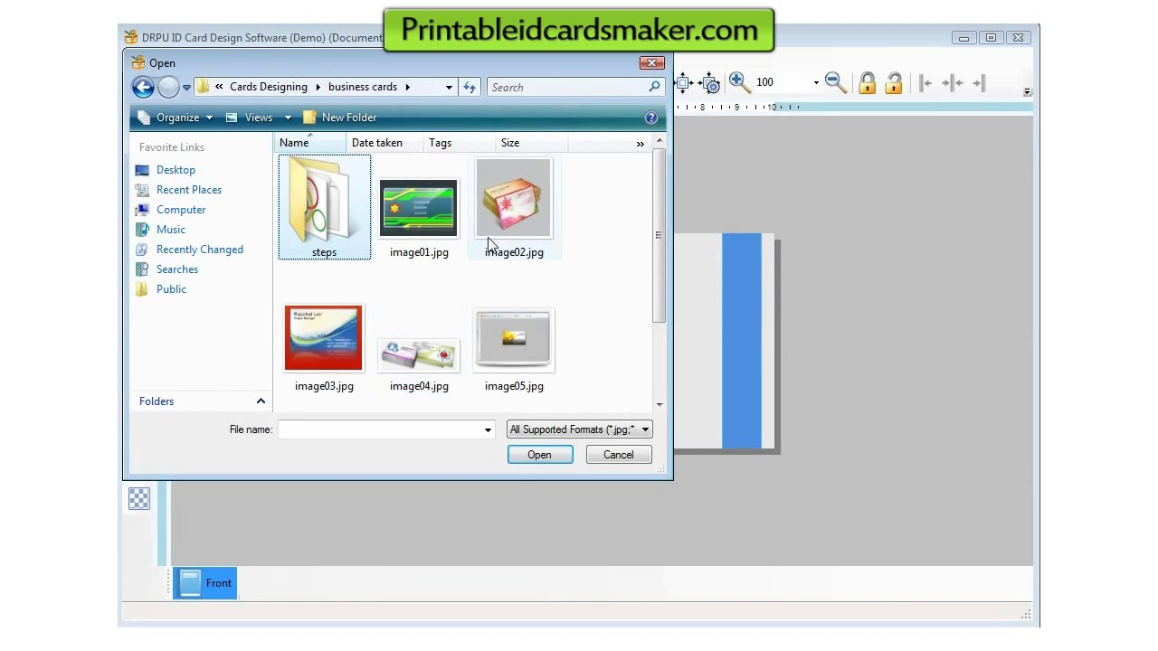 Free ID Card Maker Software - YouTube