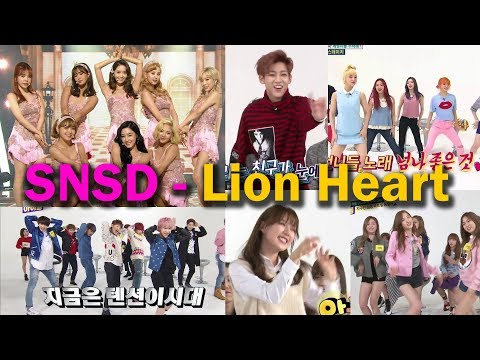K-Pop Idol Cover Dance Lion Heart SNSD | Weekly Idol