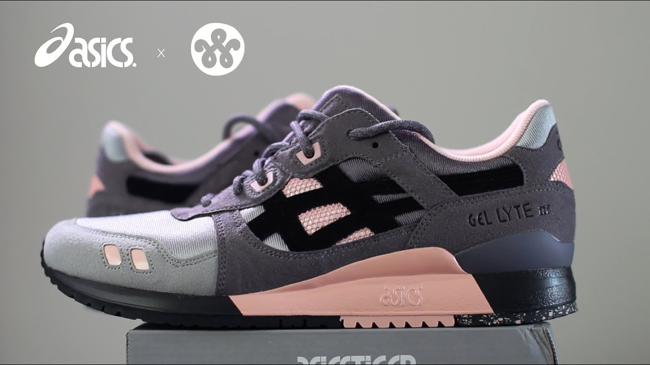 f72357e16e36 Unboxing and On Foot Review  Asics Gel Lyte 3 III Woei x Vintage Nylon 2017  Release