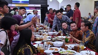 Presiden Jokowi Buka Puasa Bersama Wartawan, Jakarta, 14 Mei 2019