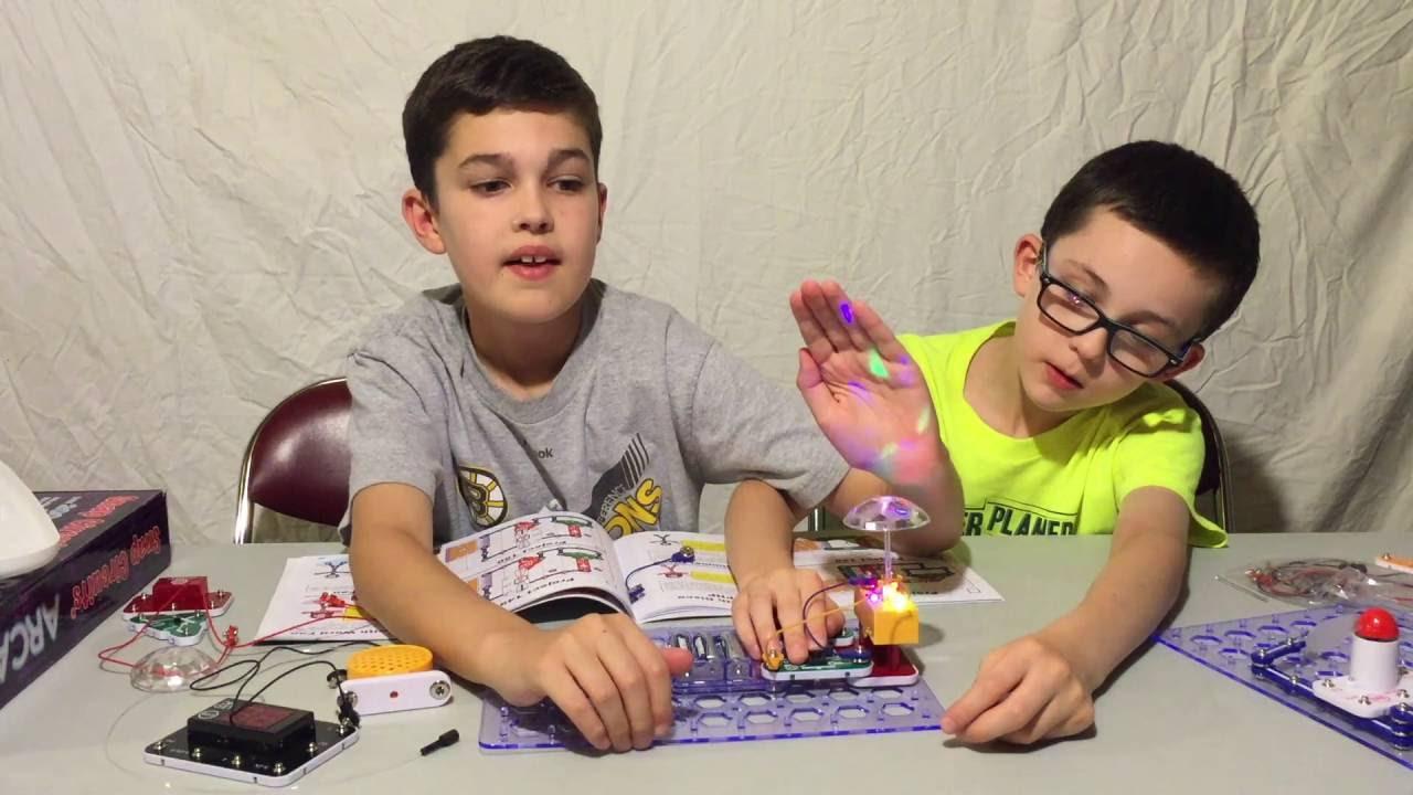 Snap Circuits Arcade U14 Elenco Rover Walmartcom Toy Review Youtube 1280x720