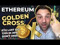 """IT FINALY HAPPENED!! {ETHEREUM TODAY JUST MADE A """"GOLDEN CROSS""""} BUY ETH NOW!! // ETH PRICE TARGET!!"""