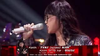 Video Kim - Beat It  - Grand Final   The Voice Kids Indonesia S 2 download MP3, 3GP, MP4, WEBM, AVI, FLV Agustus 2018