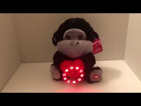 Best Valentine's Day Stuffed Animal Bear Musical Spinning Message Gift for Girlfriend Wife Daughter