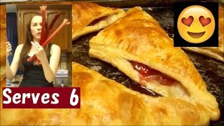 How to Make Rhubarb Pie (Turnovers) with Store-Bought Puff Pastry