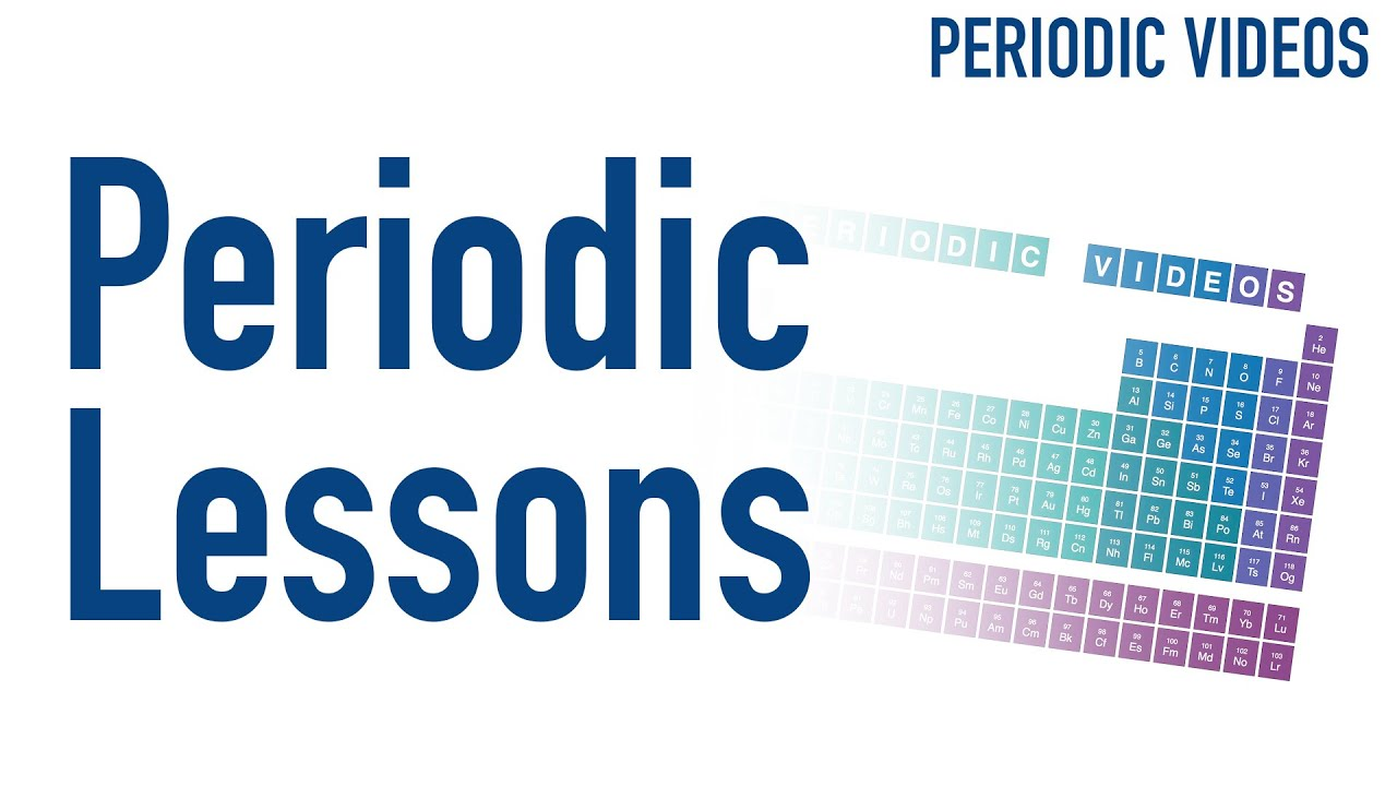 Periodic table of lessons youtube periodic table of lessons periodic videos urtaz Image collections