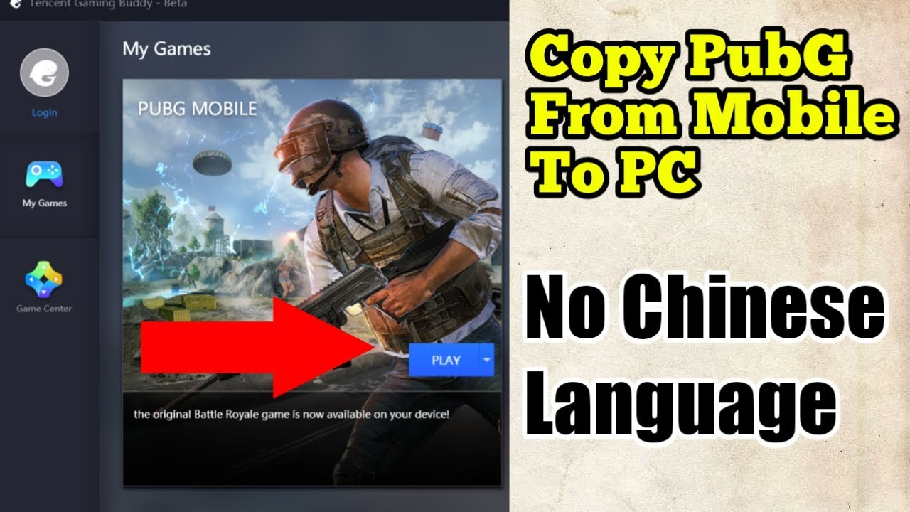 Copy PubG Mobile From Smartphone To Emulator | No Chinese Language | Update  | Problems Solved 2019