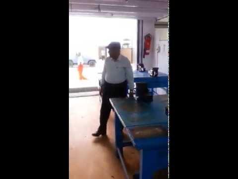 NIMASA CADETS  AT WORKSHOP