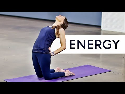 10 Minute Yoga For Energy (Better Than Coffee!!!!)