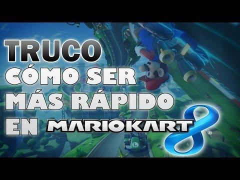 TRUCO: Cómo ser más rápido en MARIO KART