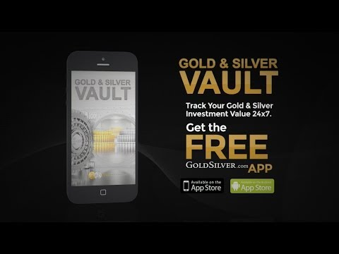Gold & Silver Vault iPhone/Android App