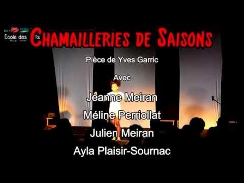 Chamailleries de Saisons - Théâtre - Ecoles Des Arts-Moûtiers (Savoie)