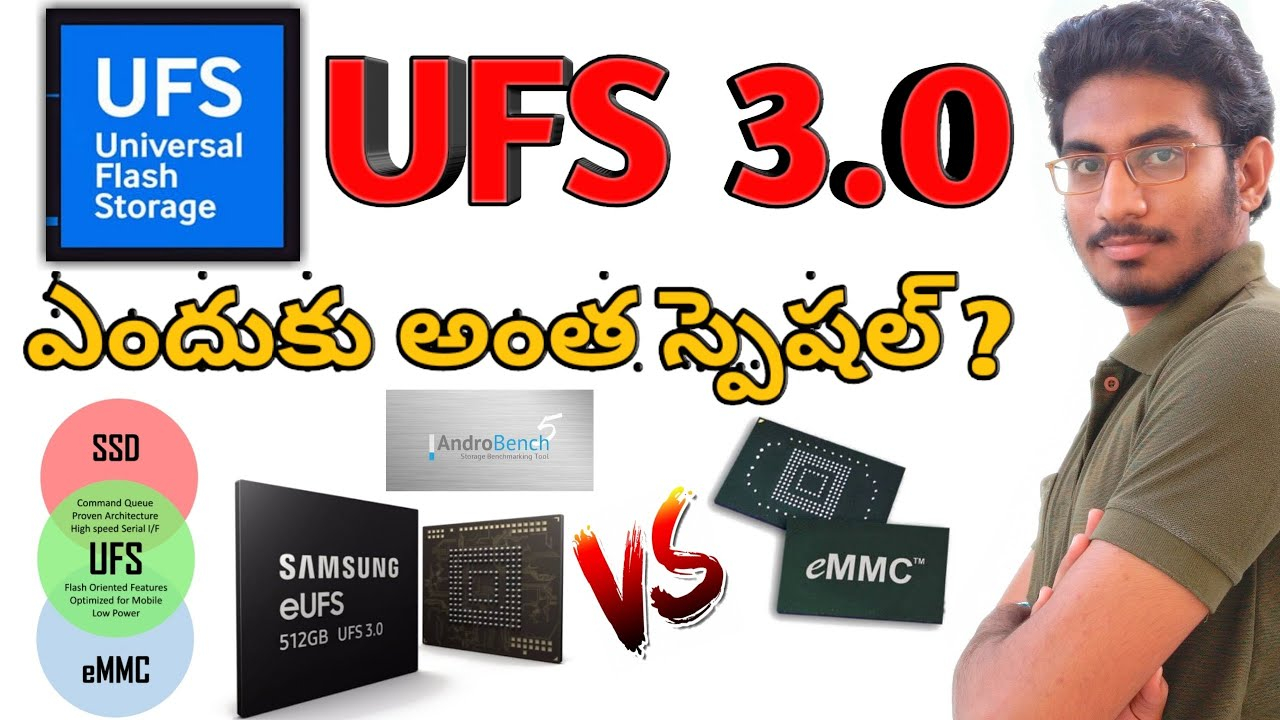 SMARTPHONE STORAGE TYPE EXPLAINED eMMC & UFS | What Is UFS 3 0 ? | EMMC Vs  UFS | 2019