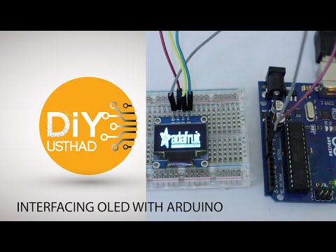 Display Images in OLED Display – DIY Usthad