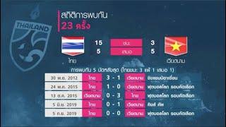 พรีวิวศึกฟุตบอลโลก รอบคัดเลือก ทัพช้างศึก ทีมชาติไทย บุกเยือน ทีมชาติเวียดนาม