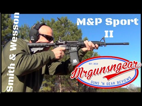 Smith & Wesson M&P Sport II AR-15 Review: Great Budget Rifle Or Piece Of Junk?  (HD)
