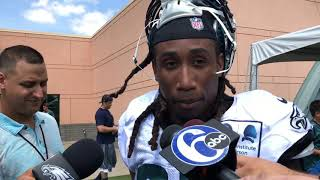 Ronald Darby on first day of Eagles practice