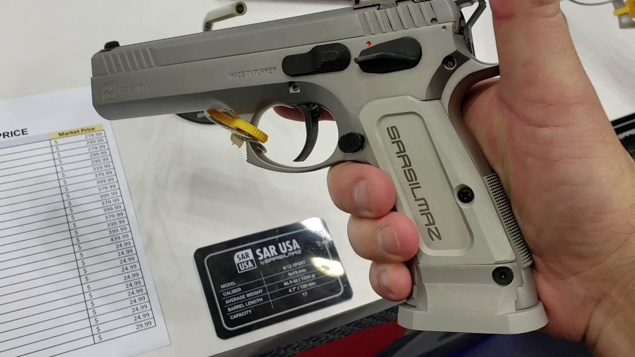 SAR USA sarsilmaz 9mm Limited sport competition