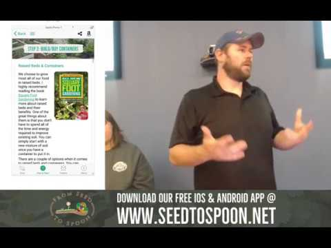 How to Start Growing Food in Your Backyard With Our Free Mobile App! (Recorded presentation)