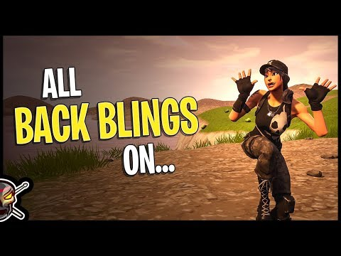 All Back Blings On Survival Specialist - Fortnite Cosmetics