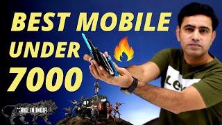 Top 5 Best Smartphones Under 7000⚡⚡ India Latest 2020 October | Gaming | Best Battery Backup |