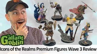 Icons of the Realms Premium Figures (Wave 3) Review - WizKids D&D Prepainted Minis