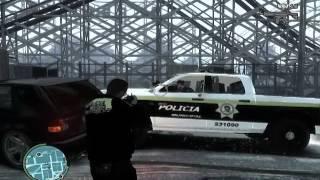 Gta 4 (pc) Policia de ensenada blanco y negro