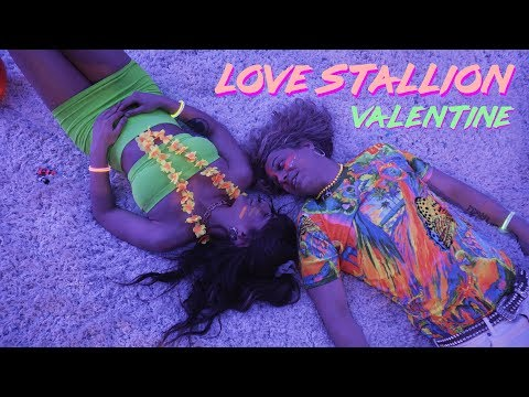 "The Official Video For Love Stallion's ""Valentine"""