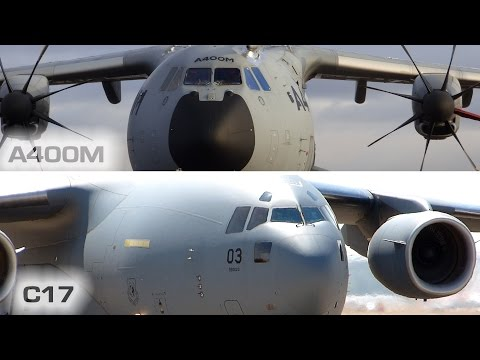 A400M vs Boeing C17