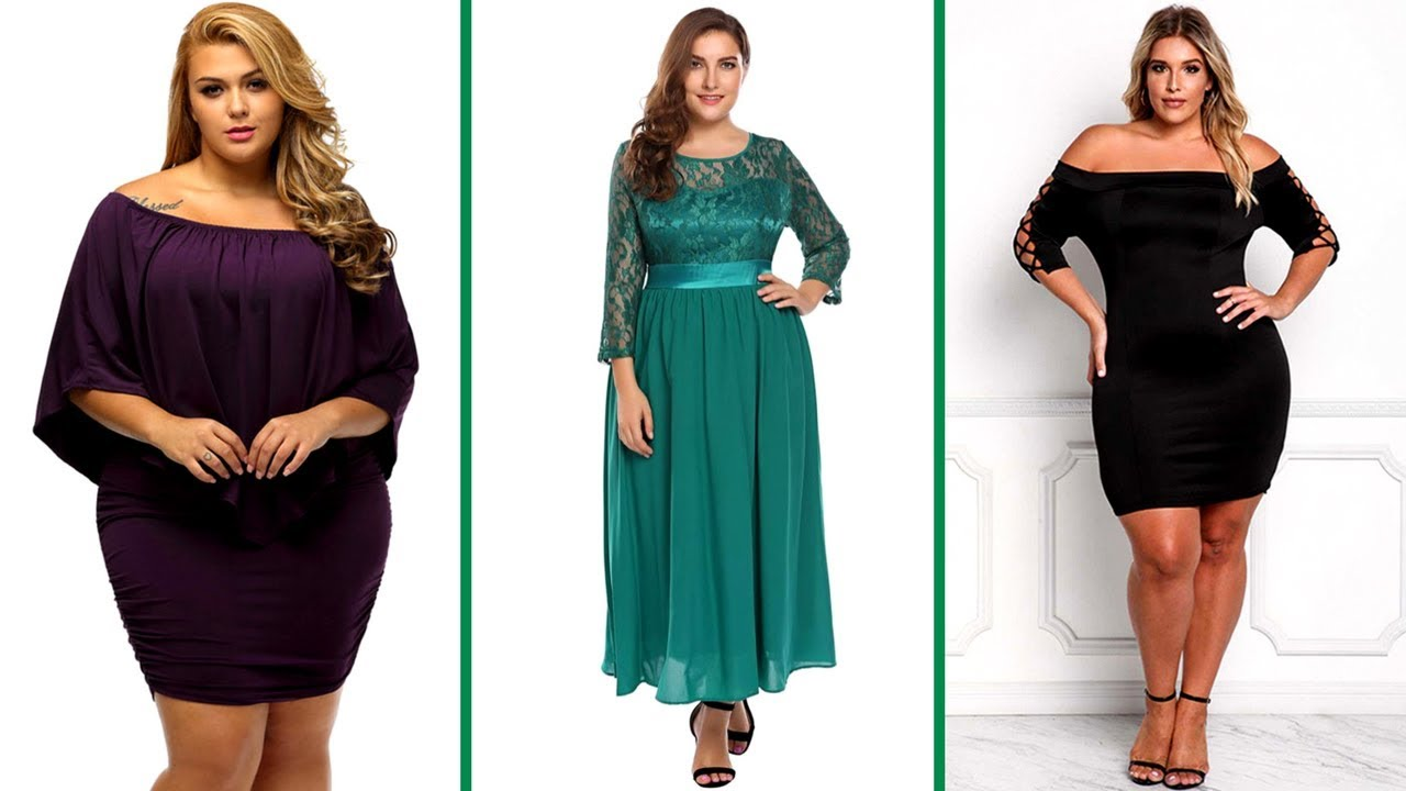 Top 10 Latest & Stylish Designer Party Wear Dresses for Plus SIze ...
