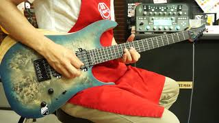 SCHECTER REAPER-6 - Satin Sky Burst [Distortion]