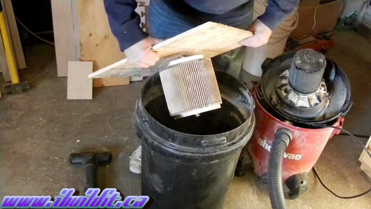 Make A Vac Filter Cleaner