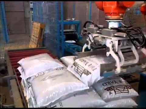 Bagging Line For Wood Pellets | RMGroup - Manual & Automated Packaging Systems