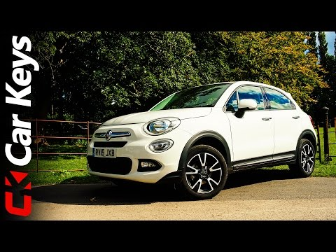 Fiat 500X 2015 review Car Keys