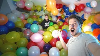 WE BOUGHT ALL THE BALLOONS FROM WALMART!